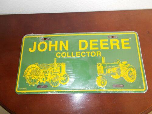John Deere Collector License Plate
