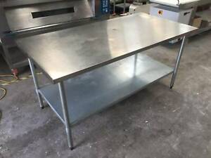 STAINLESS STEEL TABLE (CAN DELIVER) Carlton North Melbourne City Preview