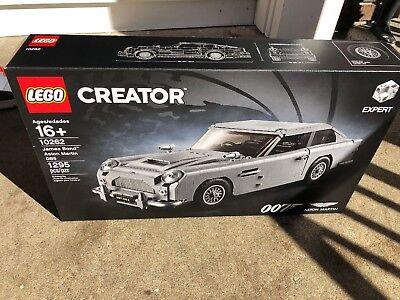 LEGO James Bond Aston Martin DB5 10262 Brand New FACTORY SEALED OUTER WEAR BOX