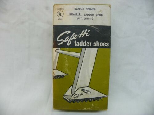Safe-Hi Replacement Ladder Shoes Pair #503213 For Straight Ladders NEW