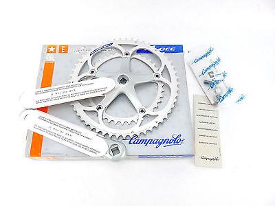 Campagnolo Veloce Crankset 175mm NIB 53-39 bolts Exa Drive 1995 NOS