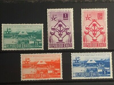 SCOTT #418-420 & C113-C114a 1958 HAITI STAMPS MNH for sale  Shipping to Canada