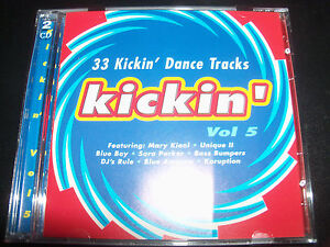 Kickin-Vol-5-Dance-Tracks-2-CD-Mary-Kiani-Diddy-Nick-skitz-Bass-Bumpers-Red-5