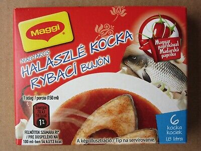 - MAGGI HUNGARIAN FISH SOUP BOUILLON CUBES 6 - 12 - 18 - 24 PIECES