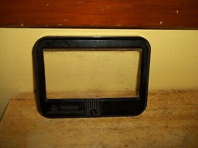 Vintage Simpson Model 260 Meter Faceplate With Glass