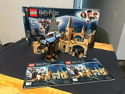 LEGO Harry Potter 75953 Hogwarts Whomping Willow COMPLETE w box, book