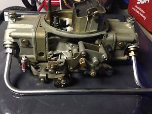 Holley 650 double pump mech seconday