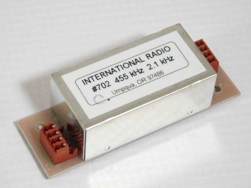 Inrad 702 455kHz 2100Hz SSB Mechanical Filter for Yaesu FT-1000MP (tested)