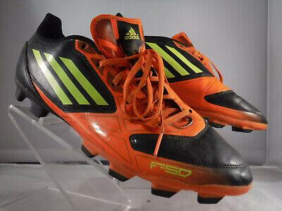 df4e3aa0bcae PM2 Adidas adiZero F50 TRX FG G45872 Football Soccer RARE messi Black  Orange 10