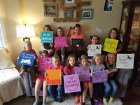 Kids DIY Sign Painting Party
