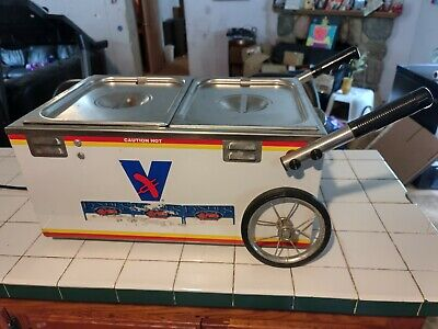 Rare Authentic Vienna Beef Hot Dog Table Top Cart Steamer Hotdog Cooker Tested