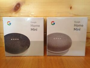 Google Home Mini, Unopened, Chalk and Charcoal