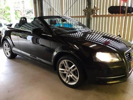 Near New Black Audi A3 Cabriolet AG TFSI