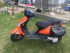 50cc scooter (red)