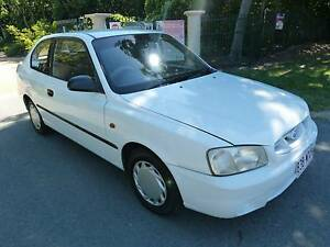2001 Hyundai Accent Hatch July Rego RWC Aircon Steer Airbag Cheap Redcliffe Redcliffe Area Preview