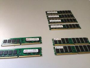 DDR2 Ram various Glen Forrest Mundaring Area Preview
