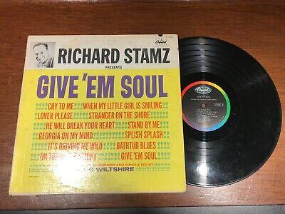 Teacho Wiltshire Orchestra – Richard Stamz Presents Give 'Em Soul - VG ()