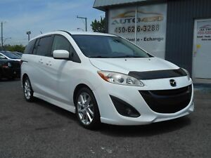 Mazda 5 GT 2012 ***MAGS,BLUETOOTH,6 PASSAGERS***