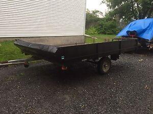 Scott double snowmobile trailer NEED GONE
