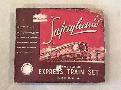 🚂 1940s METTOY RAILWAY SAFETYLECTIC SET 5020 Loco 393,BR Tender,Pullman Coaches