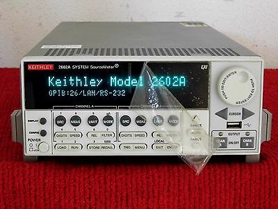 Keithley 2602a Dual-channel System Sourcemeter Instrument 3a Dc 10a Pulse