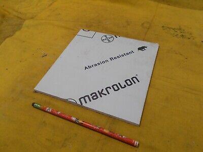 Makrolon Clear Polycarbonate Sheet Glazing Plastic Flat Stock 14 X 8 X 8