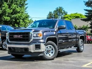 2015 GMC Sierra CREW CAB 4X4...ONE OWNER..LOCAL TRADE..