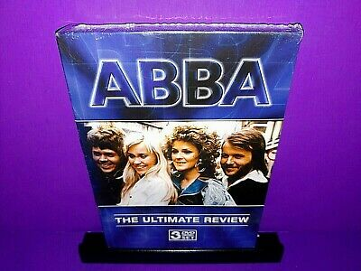 ABBA - The Ultimate Collection (DVD, 2006, 3-Disc Set) Brand New