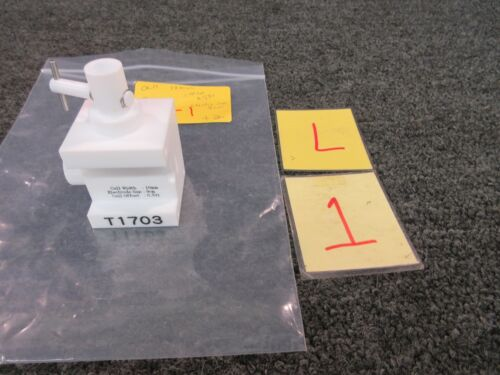 Zeta Cell Electrode Block T1703 10mm 9cm Zeecom Potential Analyzer Micro Zc-2000