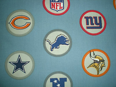 Custom Valance~ NFL~ Pottery  Barn Teen Fabric 92 by 15 PBT  (Pbt Material)