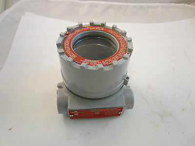 Crouse Hinds Eih21 Mf Explosion Proof Instrument Enclosure W 34 Openings