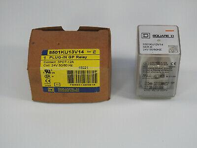 Square D Plug-In GP Relay 8501KU13V14, 3PDT-12A, 11 PIN