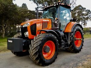 2017 Kubota M7151 Premium KVT 4x4 Agricultural Farm Tractor 151hp Austral Liverpool Area Preview