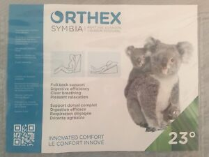 Orthex Symbia Gel Memory Foam 23-Degree Orthopedic Wedge Cushion
