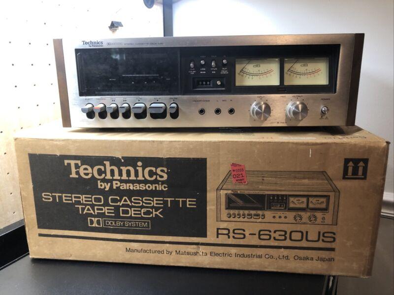 TECHNICS RS-630US CASSETTE DECK