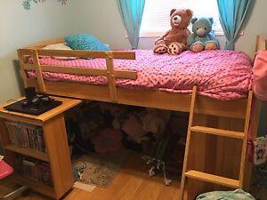 EUC child's low loft bed