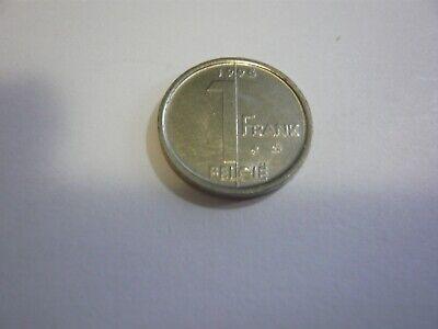 1 franc belgique pièce - belgie munt Albert II 1995