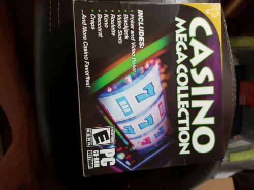 Casino Mega Collection PC Games Windows 10 8 7 XP Computer poker keno roulette
