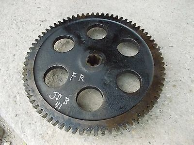 1941 John Deere B Tractor Jd First Reduction Drive Gear