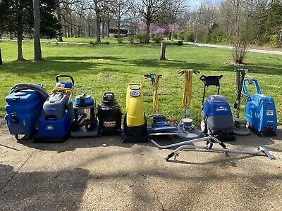 Lot Of 10 Floor Scrubber Carpet Extractor Wet Dry Vacuum Advance Tornado