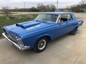 1963 Plymouth Belvedere  Max Wedge Replica