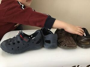Plastic sandals toddler size 7-8 and 8 1/5