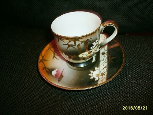 Shofu China Cup & Saucer, Made in Occupied China, Vintage