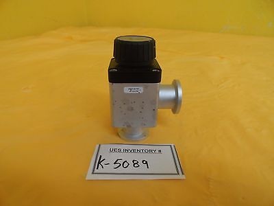 Varian L6280-302 Manual Bellows Valve Nw25-ho L6280302 Used Working