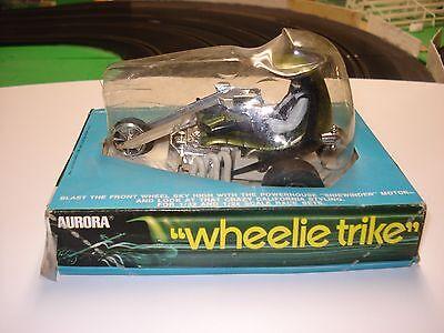 """1/32 Aurora Wheelie Trike """"Green Machine"""" NOS slot car"""