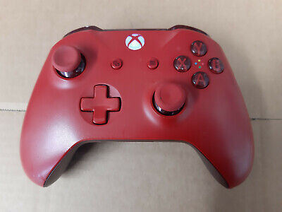 Official Microsoft Xbox One S 1708 Red Wireless Controller