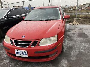 Saab ,manual for sale 2005