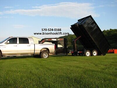 Brand New Rolloff Trailer Includes 1 15 Yard 14 Roll Off Container