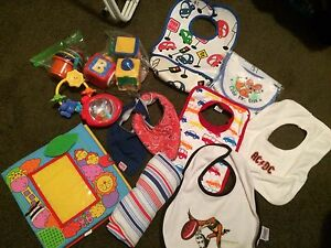 Baby Bib & Toy bundle Jane Brook Swan Area Preview