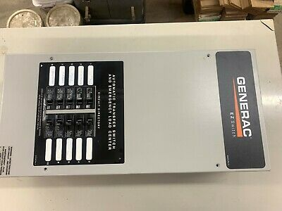 Generac Ez Switch 100a240v 10-circuit Automatic Transfer Switch Rts10ez